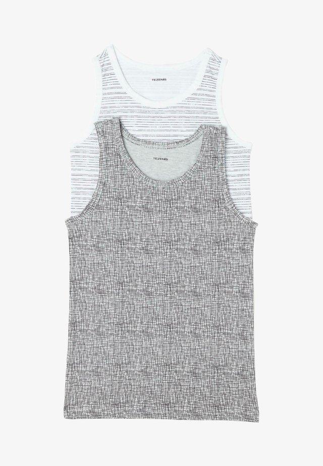 2 PACK - Top - grey