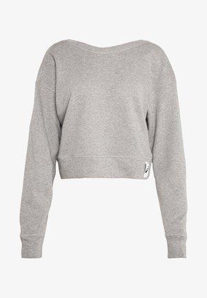 SHIZUKA CROPPED - Sweatshirt - mid grey