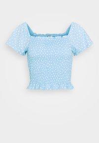 RIVA  - Print T-shirt - blue irrydot