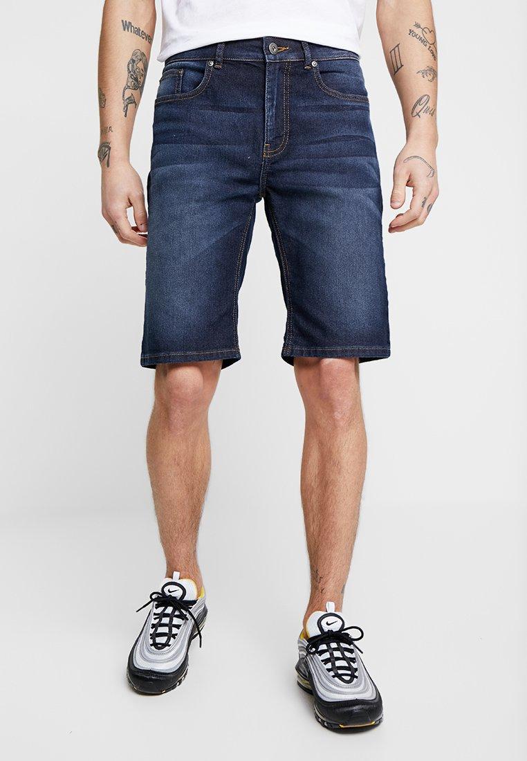 Zalando Essentials - Denim shorts - blue denim