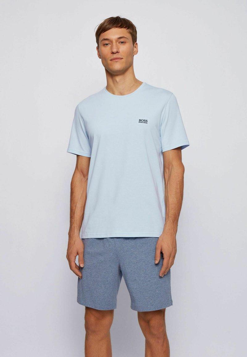 BOSS - MIX&MATCH T-SHIRT - Pyjama top - light blue