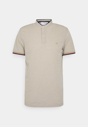 SLHFINLAY - Polo shirt - crockery/twisted with egret