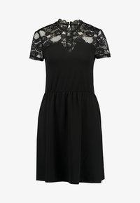 ONLY - ONLMONNA MIX DRESS - Jerseykleid - black - 5