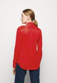 Polo Ralph Lauren - HEIDI LONG SLEEVE - Button-down blouse - bright hibiscus - 2