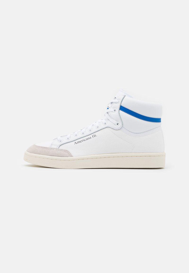 adidas Originals - AMERICANA SPORTS INSPIRED MID SHOES UNISEX - Zapatillas altas - footwear white/glory blue/core black