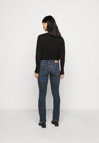 Vero Moda Petite - VMDINA - Široké džíny - dark blue denim - 2
