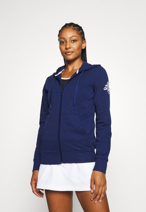 CLUB HOODIE - veste en sweat zippée - blue
