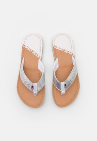 Tommy Jeans - IRIDESCENT BEACH - T-bar sandals - white - 5