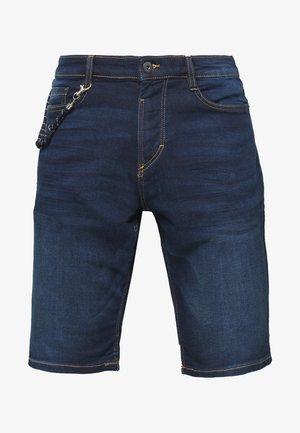 Short en jean - dark stone wash denim