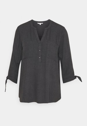 COZY TUNIC - Tunic - shale grey