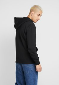 Calvin Klein Jeans - ESSENTIAL ZIP THROUGH - Felpa aperta - black - 2