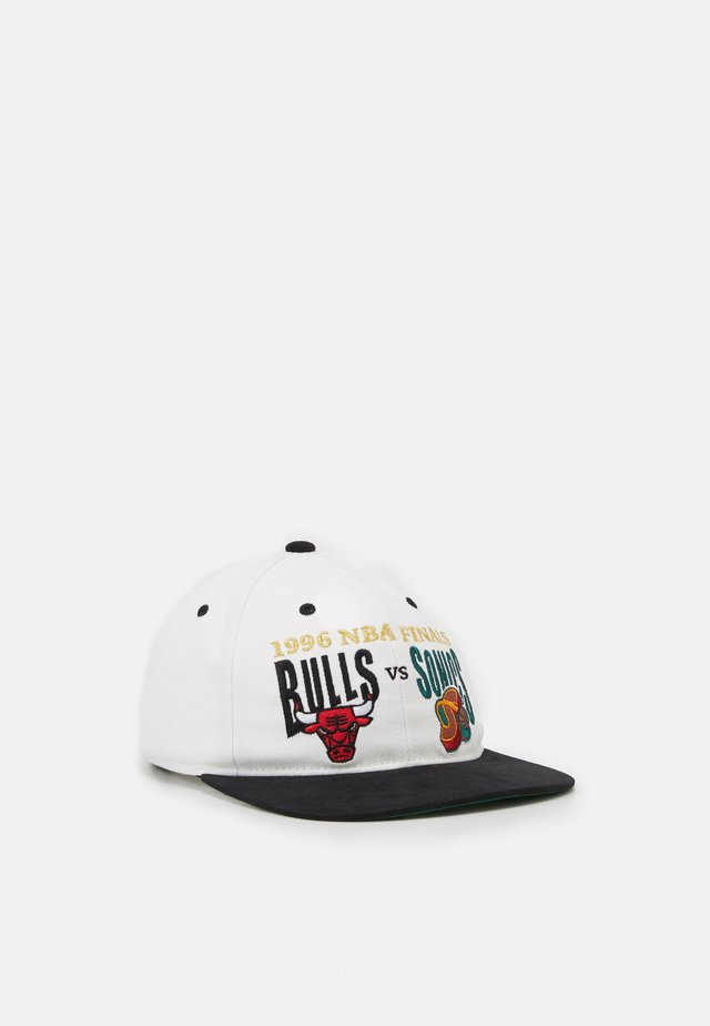 NBA CHICAGO BULLS FINALS HISTORY - Cappellino - white/black