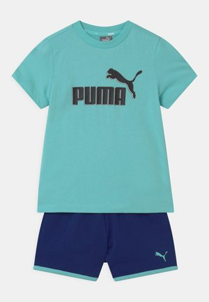 MINICATS SET UNISEX - T-shirt med print - light blue