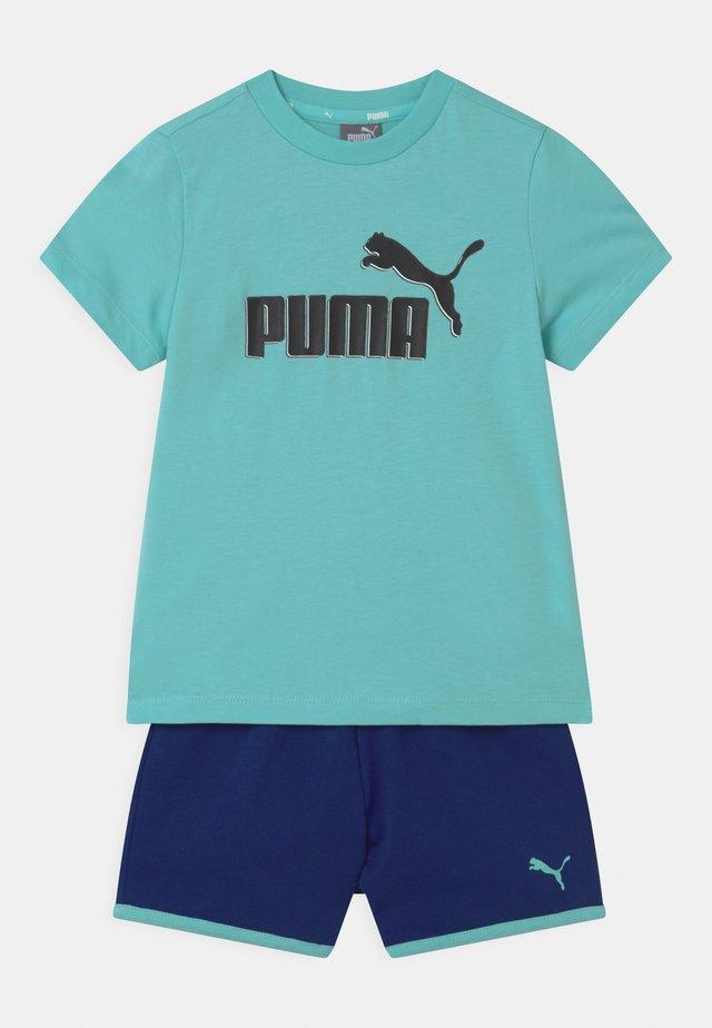 MINICATS SET UNISEX - T-shirt imprimé - light blue