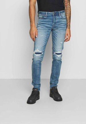 MEDIUM DESTROY  - Jeans Skinny Fit - cool torn