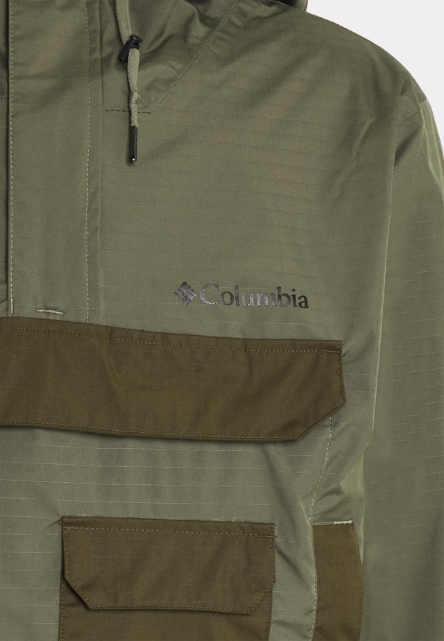 BUCKHOLLOW™ ANORAK - Outdoorová bunda - stone green/olive green