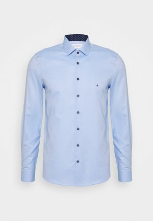 CONTRAST PRINT SLIM SHIRT - Formal shirt - blue