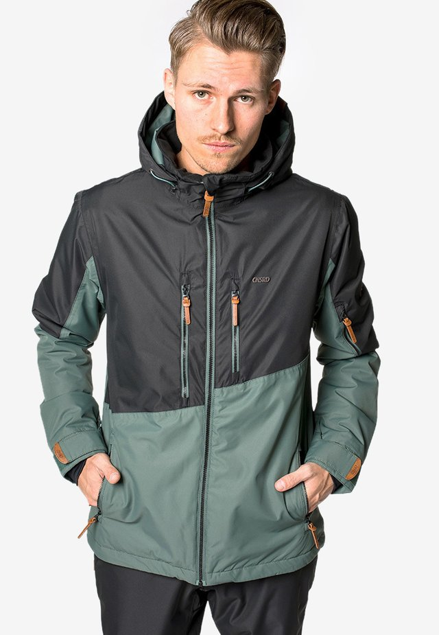 JOHN - Snowboardjas - green