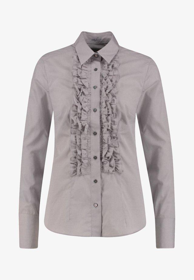 ELFE-Q - Button-down blouse - silver