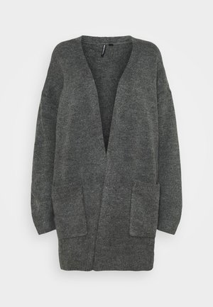 COSY EDGE TO EDGE - Gilet - charcoal
