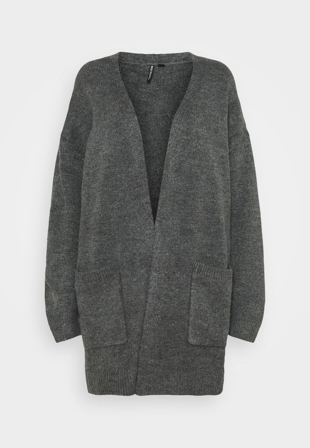 COSY EDGE TO EDGE - Cardigan - charcoal