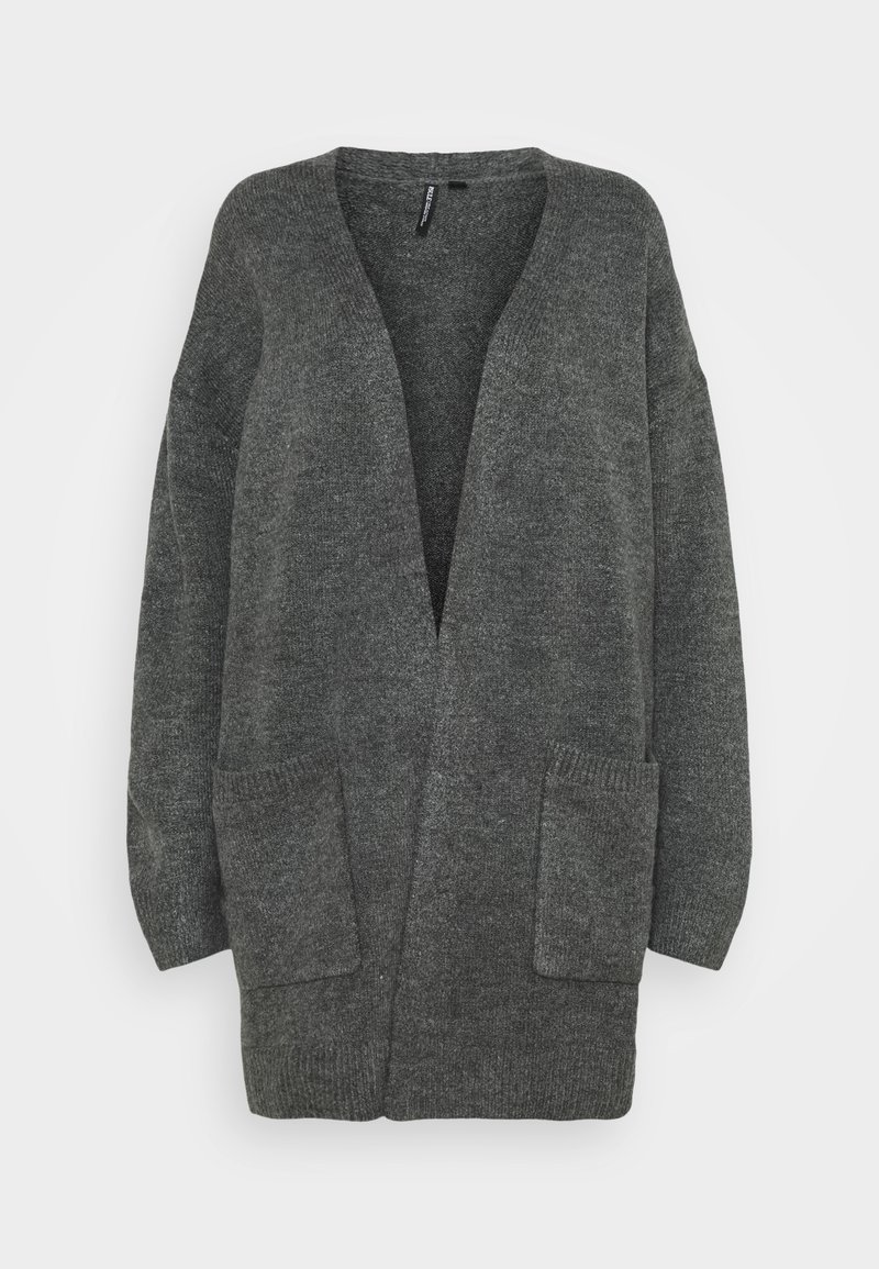 CAPSULE by Simply Be - COSY EDGE TO EDGE - Cardigan - charcoal