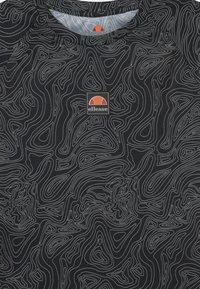 Ellesse - DUGONI UNISEX - Camiseta estampada - black - 2