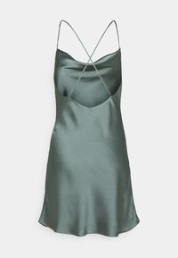 Abercrombie & Fitch - CHASE SLIP MINI DRESS - Cocktail dress / Party dress - green - 1