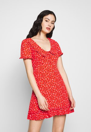 LADIES DRESS - Denní šaty - sweet red