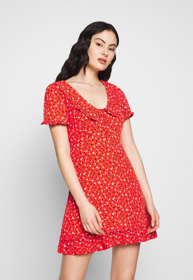 LADIES DRESS - Sukienka letnia - sweet red