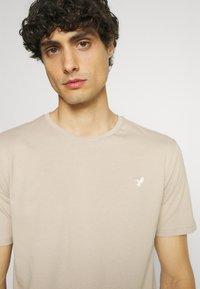 Pier One - 5 PACK - T-shirt - bas - dark grey/dark blue/olive - 5