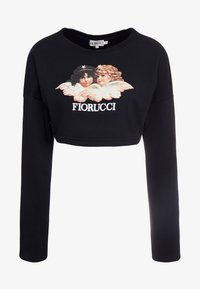 Fiorucci - VINTAGE ANGELS CROPPED  - Mikina - black - 3