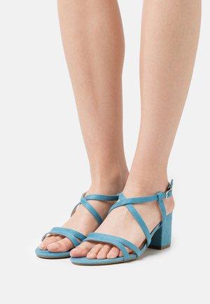 WIDE FIT - Sandals - blue