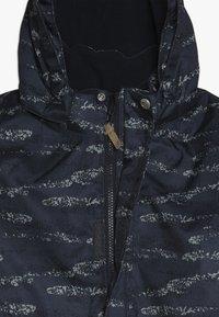 Minymo - SNOWSUIT HERRINGBONE - Mono para la nieve - ombre blue - 6