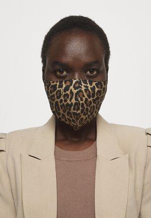 JUNO MASCHERINA - Maschera in tessuto - brown