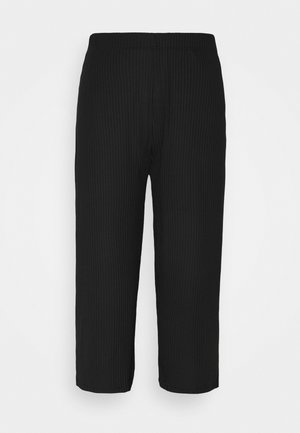 PCTOPPY CULOTTE PANTS - Bukse - black