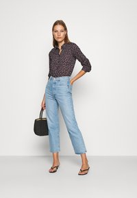 Benetton - Button-down blouse - navy - 1