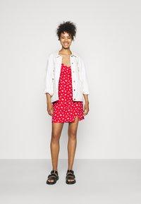 Hollister Co. - SHORT DRESS - Day dress - red - 1
