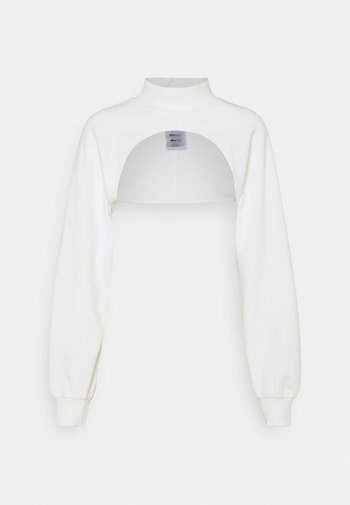 SELMA CROPPED - Sweatshirt - offwhite