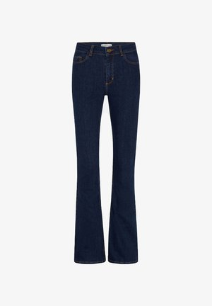 EVA  - Bootcut jeans - dark blue denim