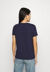CALANDO - Basic T-shirt - dark blue - 2