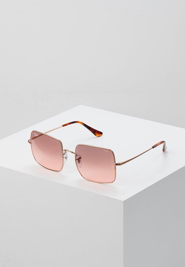 SQUARE - Sunglasses - copper