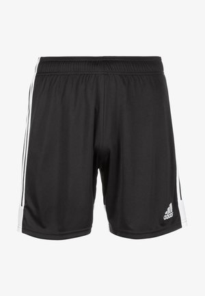 TASTIGO - Sports shorts - black/white