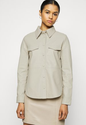 DIANE - Button-down blouse - silver birch