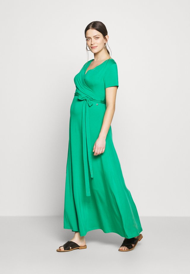 LONG DRESS NURSING - Maxikjoler - green