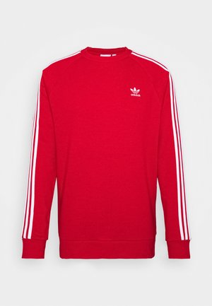 3 STRIPES CREW UNISEX - Sweater - scarle
