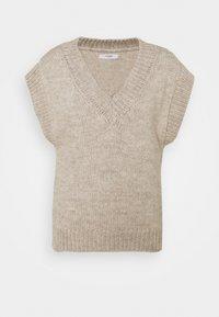 Lovechild - VEA WAISTCOAT - Basic T-shirt - tofu - 0