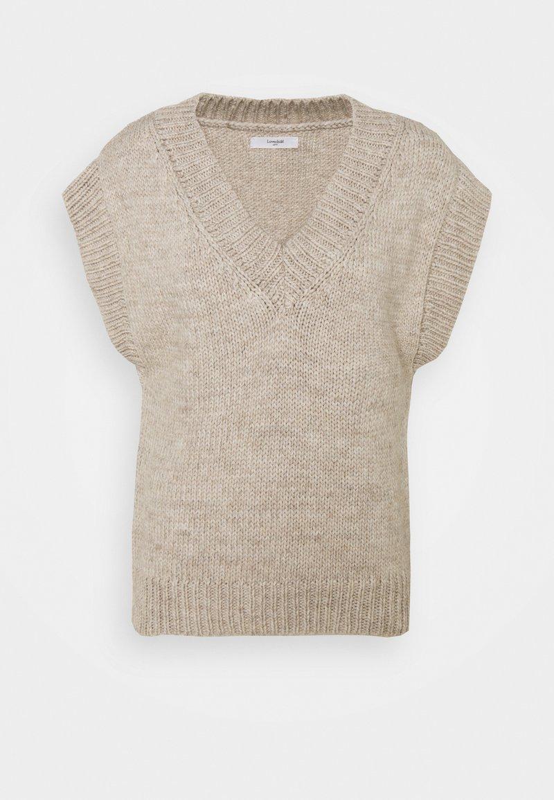 Lovechild - VEA WAISTCOAT - Basic T-shirt - tofu