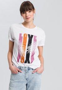 Marc Aurel - Print T-shirt - pink - 0