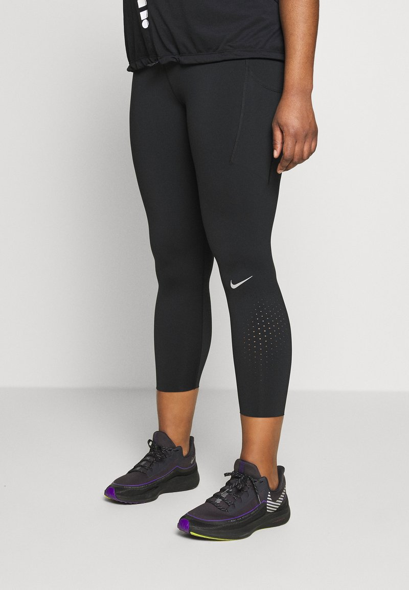 Nike Performance - EPIC PLUS - Trikoot - black/silver